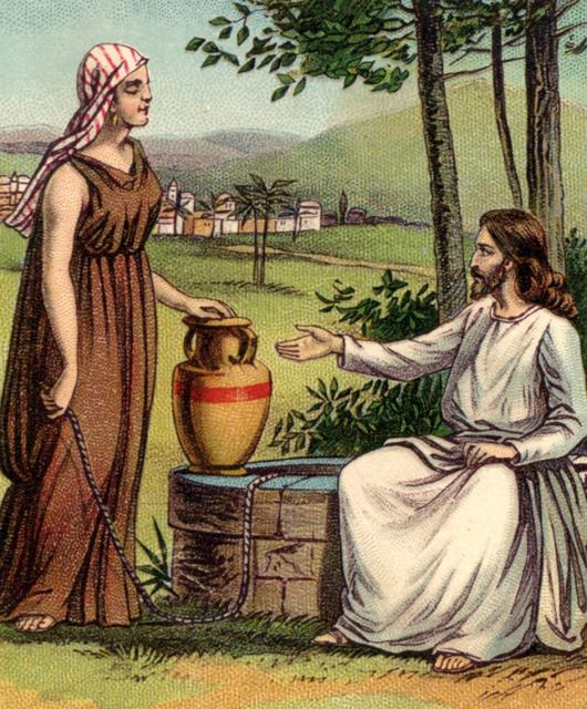Jesus did not judge the divorced woman at the well