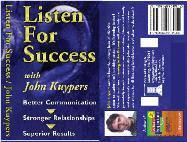 Listening For Success – 40 min CD or Mp3