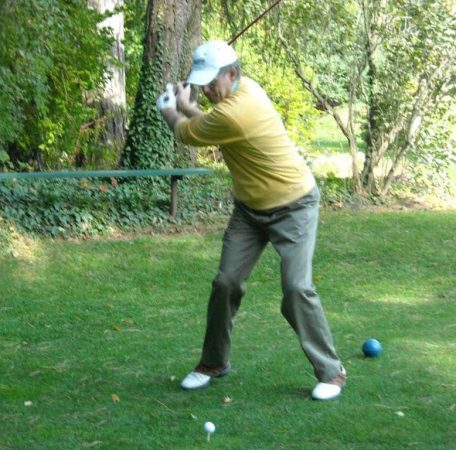 How I let golf teach me to be in the present