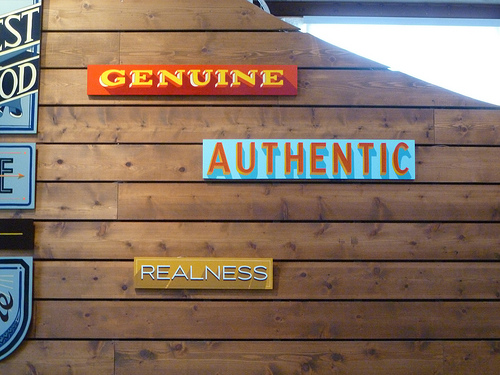 Choosing to be truly authentic