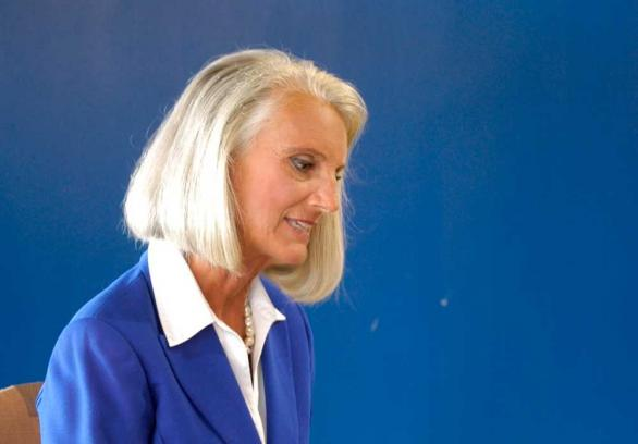 Anne Graham Lotz can't see her spiritual blind spots either!