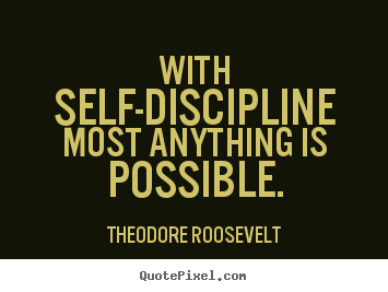 The number two secret to self-discipline