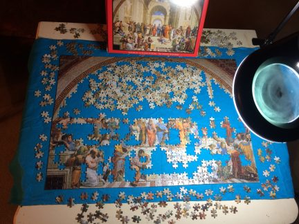 How you can experience being present by doing a jigsaw puzzle